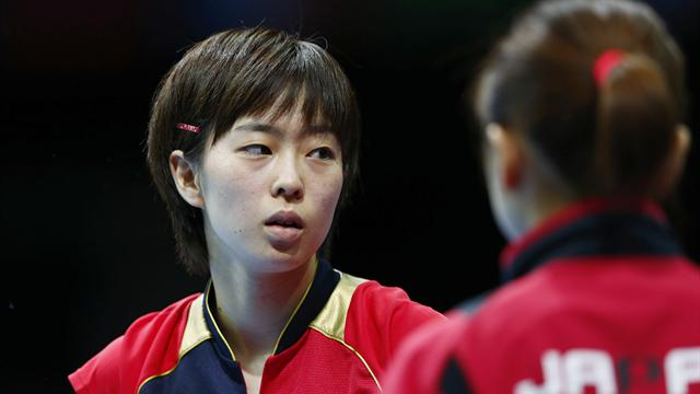 Japón accede a la final del tenis de mesa femenino