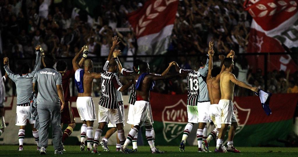 Jogadores do Fluminense exaltam espírito guerreiro contra o Emelec