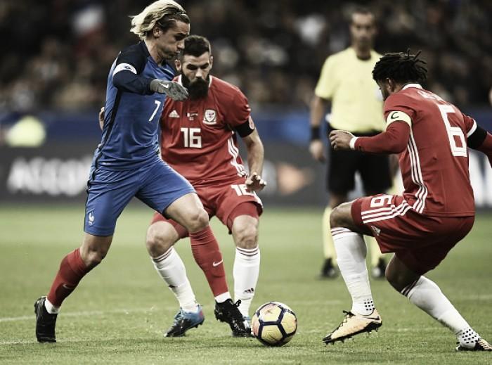 Com atuação sólida e novatos estreando, França vence País de Gales em amistoso