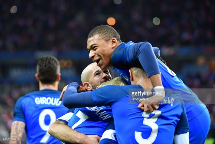 France 2-0 Wales: Ferocious France continue World Cup preperations with comfortable win over wavering Welsh