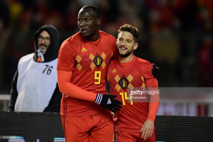 "Romelu Lukaku states he was ""born to score"" after returning to scoresheet in Mexico draw"