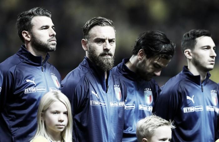 Leitura labial: De Rossi é flagrado pedindo entrada de Insigne durante eliminação da Itália