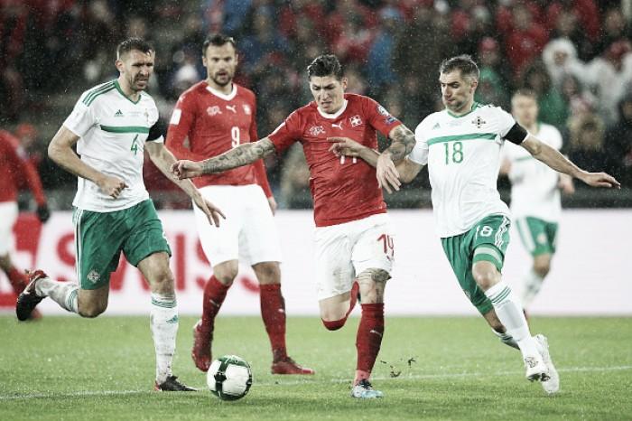Rússia 2018. Suíça carimba presença no Mundial