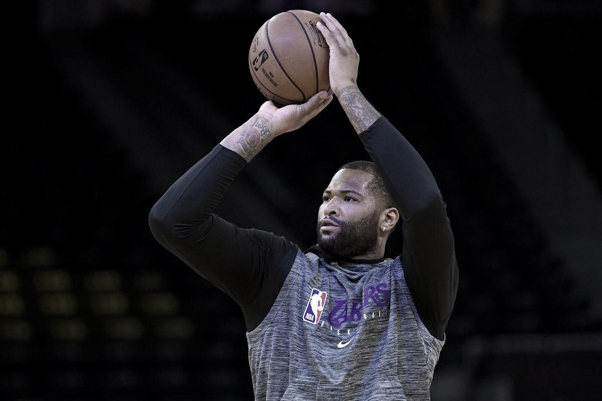 Lakers waive DeMarcus Cousins