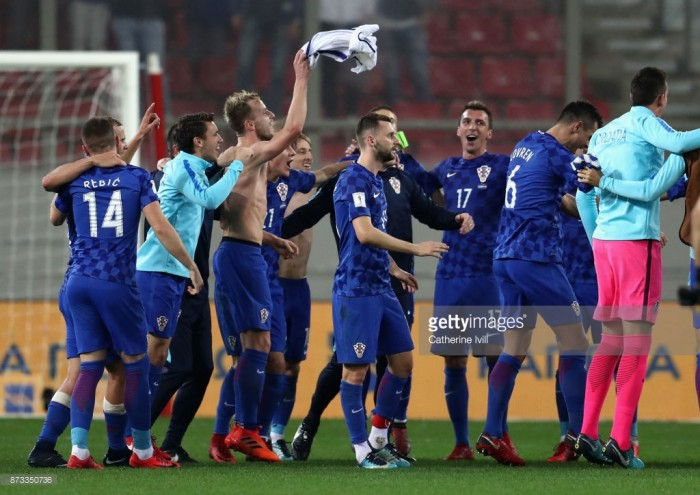 Greece (1) 0-0 (4) Croatia: Greeks fail to halt Croatian march to Russia