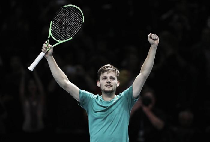 Em partida acirrada, Goffin surpreende e vence Nadal pela primeira rodada do ATP Finals