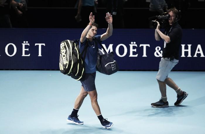 Lesão no joelho volta a incomodar e Rafael Nadal abandona ATP Finals