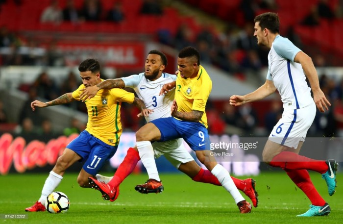 England 0-0 Brazil: Southgate's Lions fend off World Cup favourites