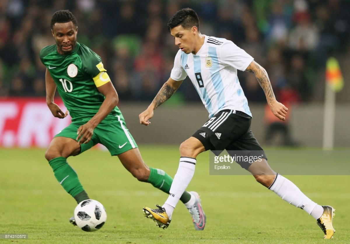 Argentina add Enzo Perez to replace injured Lanzini