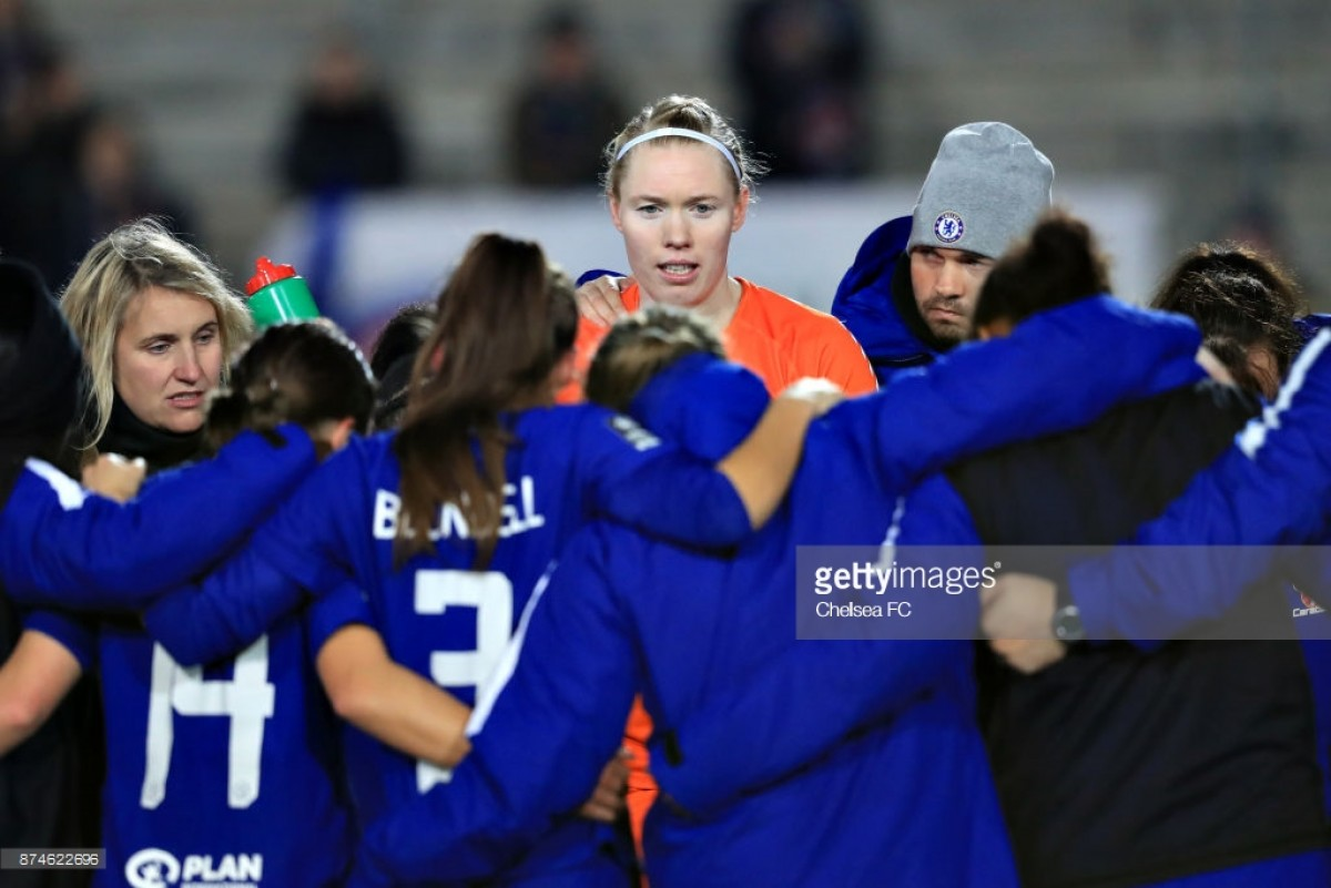 Montpellier 0-2 Chelsea: Hedvig Lindahl on staying alert