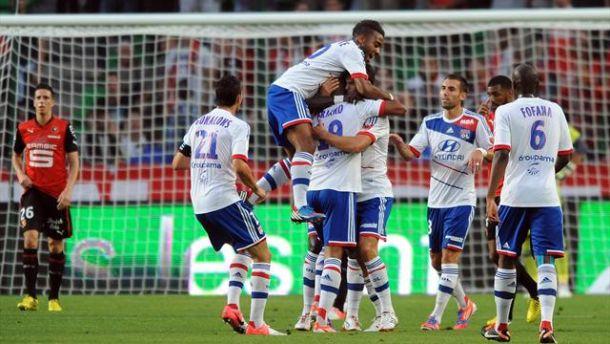 Olympique Lyonnais - Rennes en LIVE (terminé)
