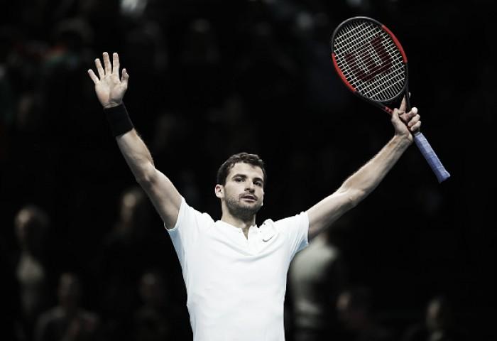 Dimitrov atropela Carreno-Busta e desafia Jack Sock na semifinal do ATP Finals