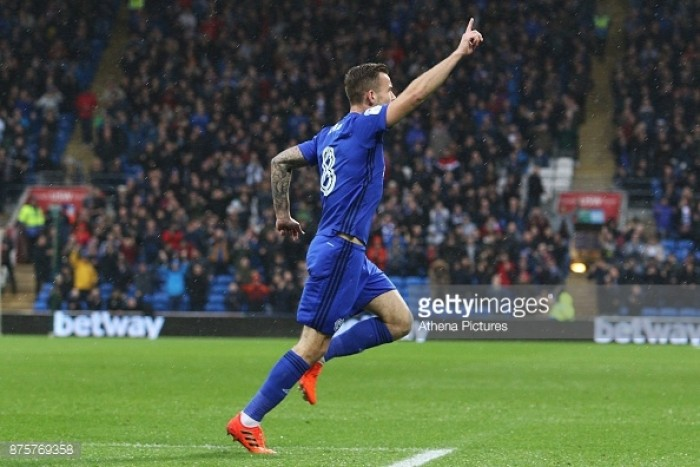 Cardiff City 2-0 Brentford: Clinical Bluebirds keep pace with top two