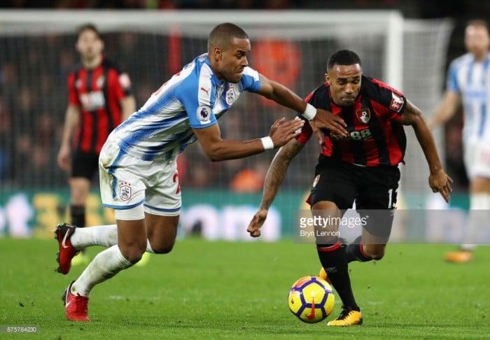 "MathiasJørgensen: Huddersfield ""let ourselves down"" in heavy Bournemouth loss"