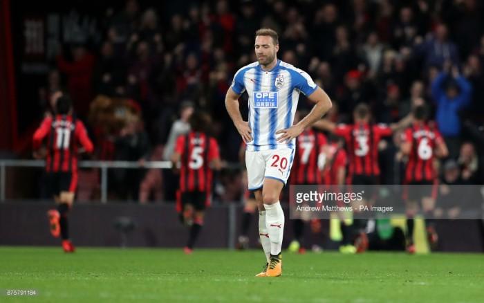 "Laurent Depoitre expects ""toughest match of the season"" against Manchester City"