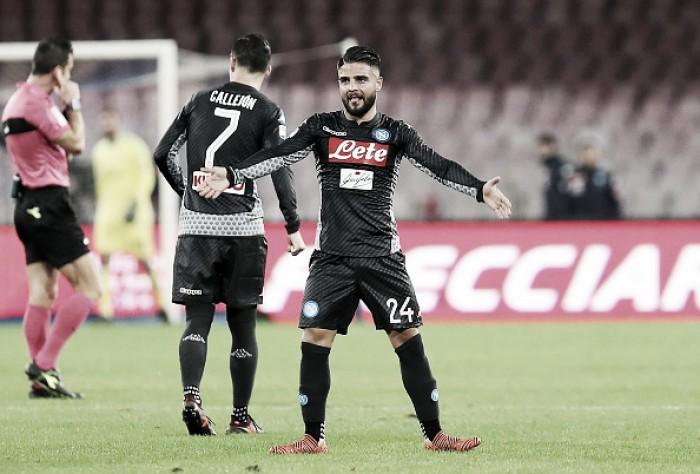 """Insigne celebra dura vitória contra o Milan: """"Jogamos com coração e coragem"""""""