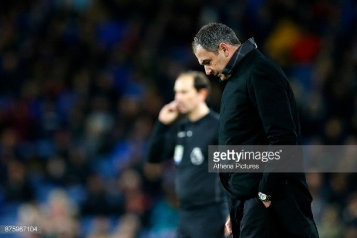 Paul Clement admits concern over Swansea City performances