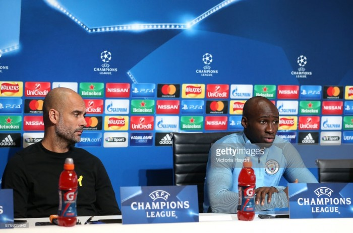 "Eliaquim Mangala has stated that he is learning ""every day"" under Guardiola ahead of first-team return"