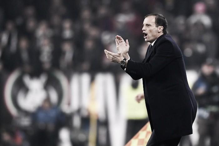 """Apesar do empate sem gols, Allegri elogia partida entre Juventus e Barça: """"Incrível duelo tático"""""""