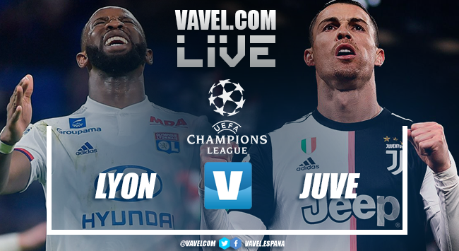 Resumen Lyon 1-0 Juventus  en octavos de final Champions League 2020