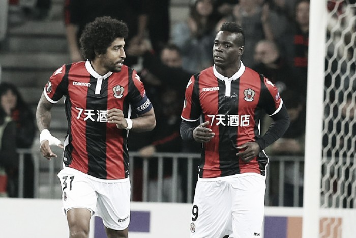 Balotelli brilha, Nice bate Zulte e assegura classificação na Europa League