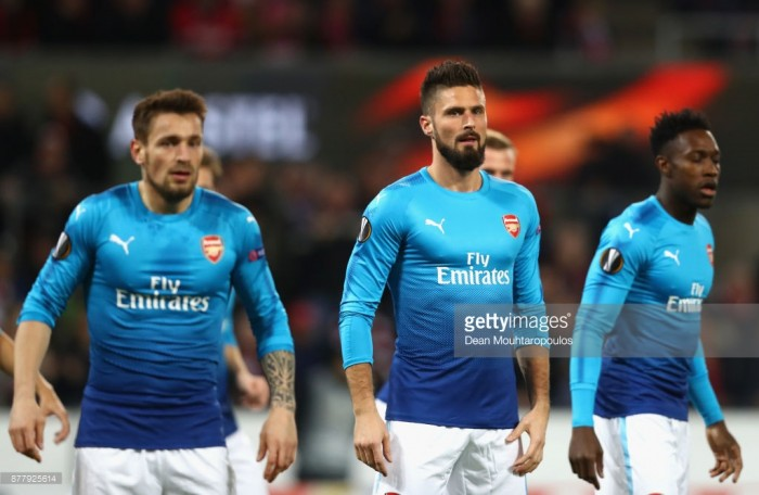 FC Koln 1-0 Arsenal: Player ratings as the Gunners lose for the first time in the Europa League