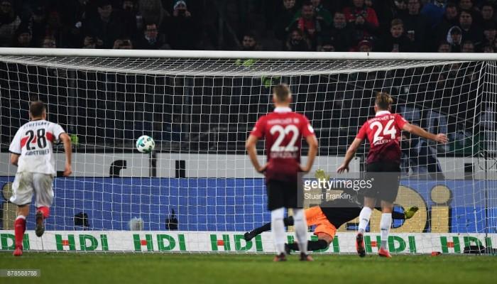 Hannover 96 1-1 VfB Stuttgart:Niclas Füllkrug snatches a point for hosts
