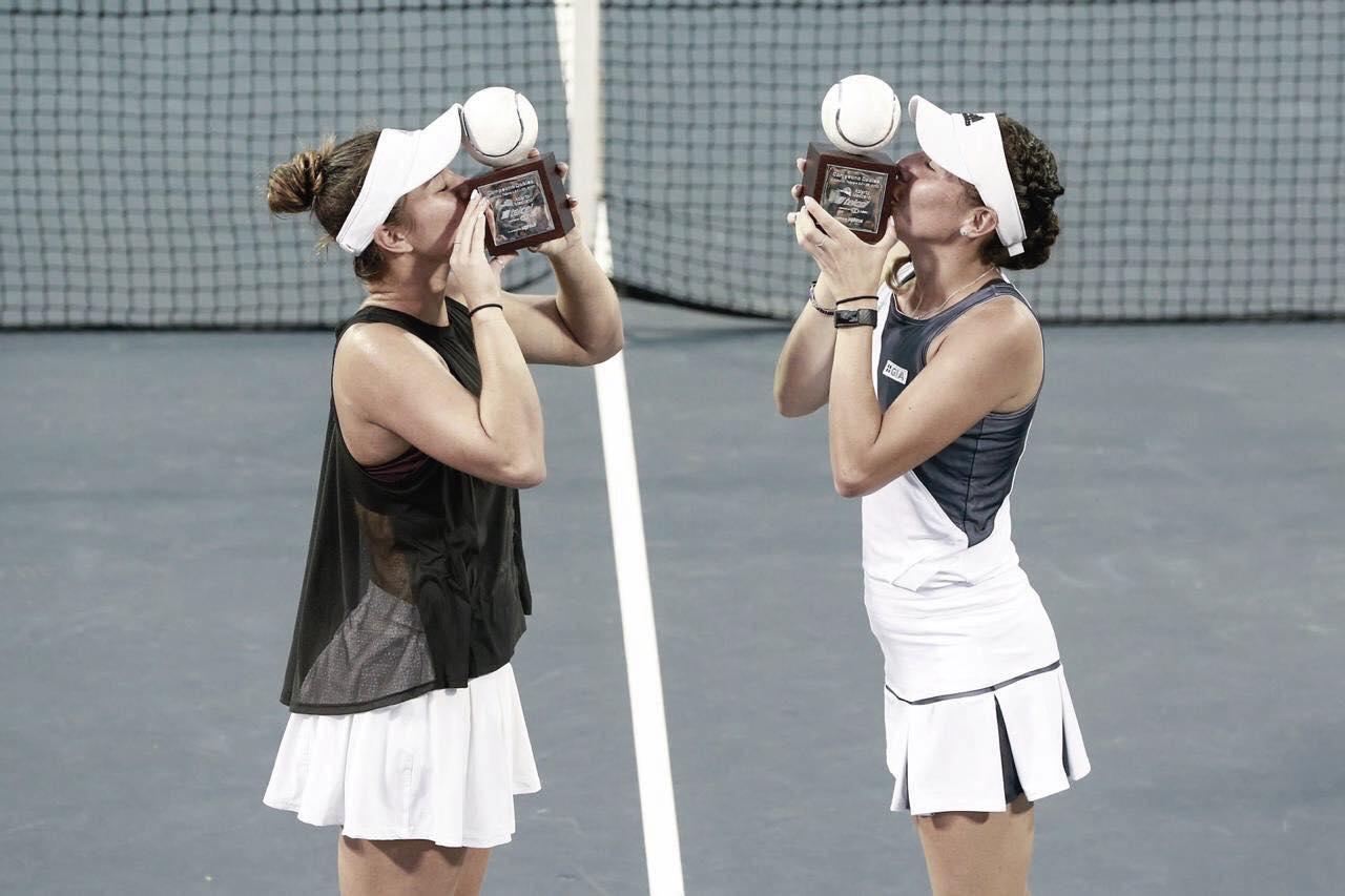 WTA Acapulco: 'Gugu' Olmos makes history
