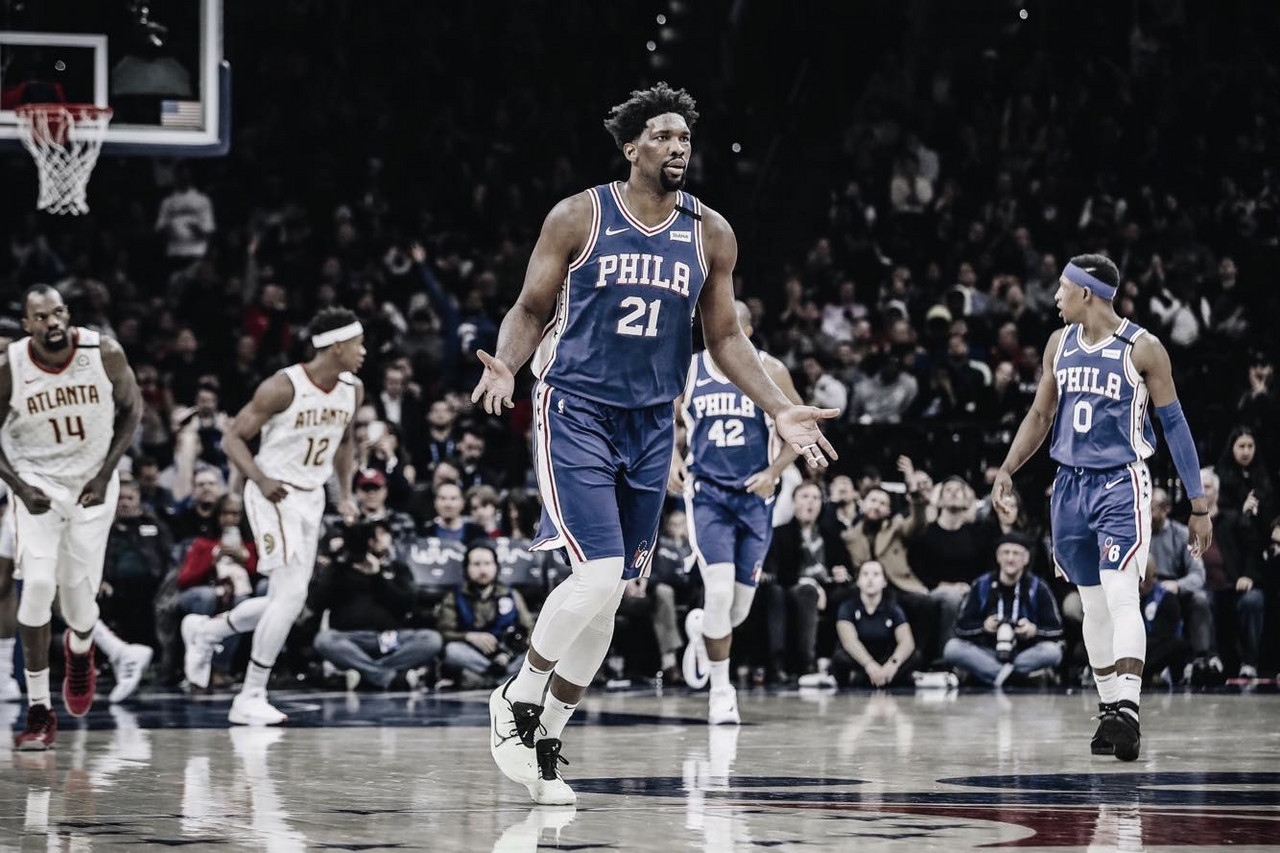 Embiid to be re-evaluated in one week