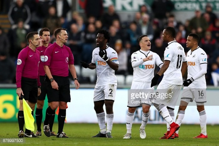 Swansea City 0-0 AFC Bournemouth: Points shared in controversial goalless draw at Liberty