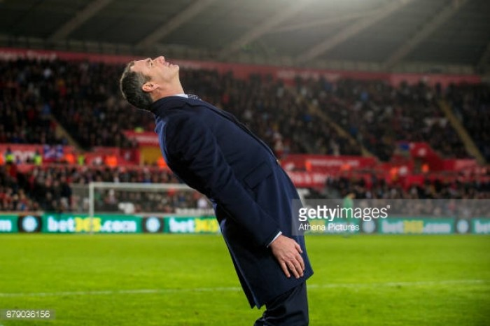 """Paul Clement claims disallowed goal call was """"soft"""" after draw to Bournemouth"""