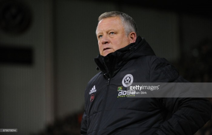 "Sheffield United manager Chris Wilder believes his side ""have got no right"" to be in the position they are"