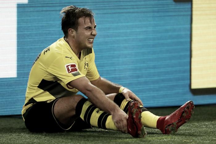 Götze rompe ligamentos do tornozelo e só volta ao Borussia Dortmund em 2018