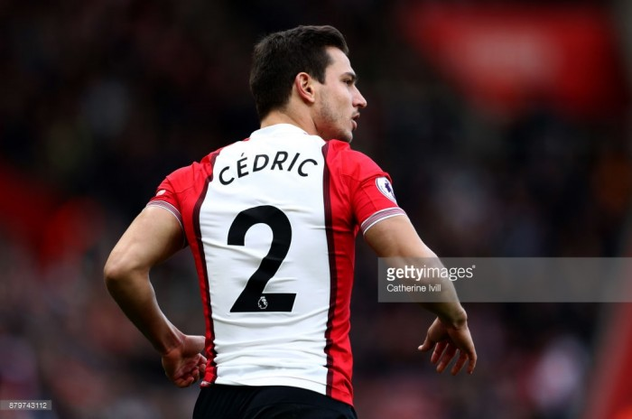 Cédric Soares picks up accolade with Saints Player of the Month award