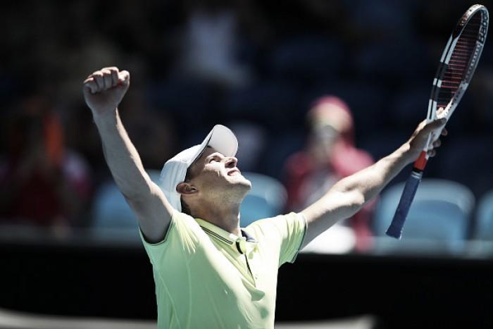 Australian Open: Dominic Thiem survives huge upset with comeback five-set win over Denis Kudla