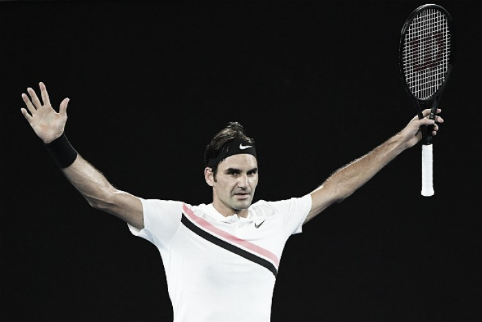 Australian Open: Roger Federer reaches the second week with win over Richard Gasquet