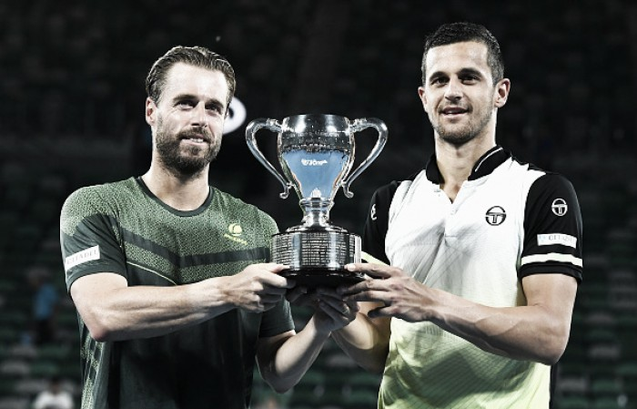 Marach, Pavic double up for title