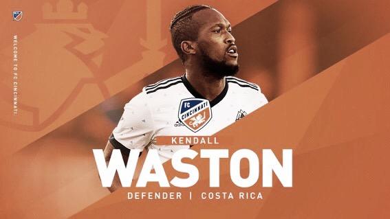 FC Cincinnati firma a Waston