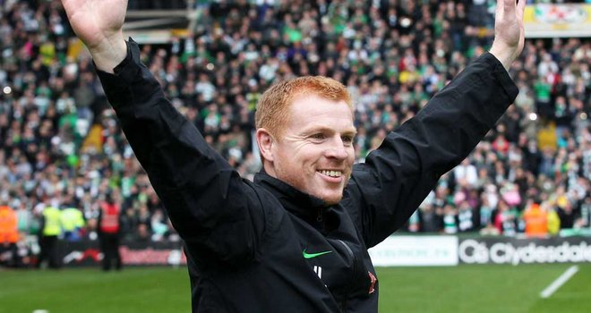 Lennon 'delighted' with Celtic Euro victory