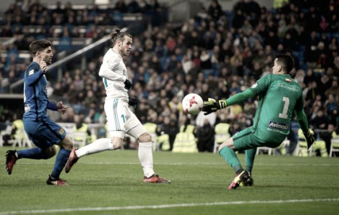 No retorno de Bale, Real Madrid empata com Fuenlabrada em casa e avança na Copa do Rei