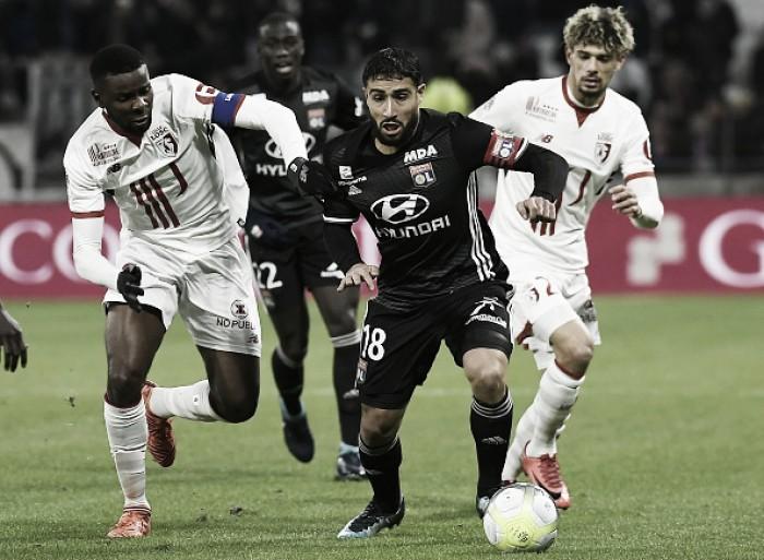 Thiago Mendes marca, Lille vence Lyon e encerra longa invencibilidade do adversário
