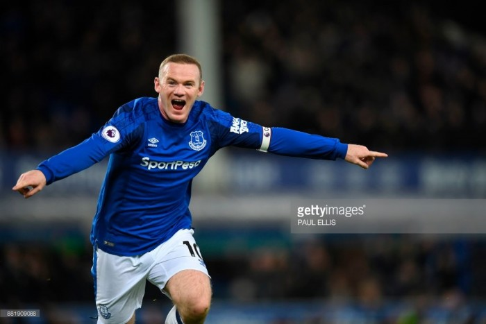 Wednesday Football Live: Rooney scores a third from his own half. Sterling nets Man City winner in 95th minute