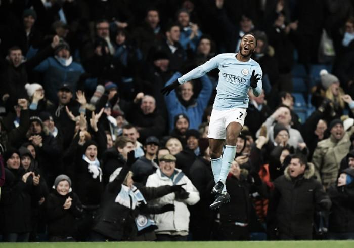 Sterling marca golaço no último minuto, City bate Southampton e segue fazendo vítimas