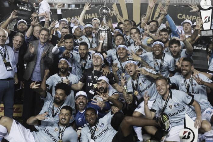 Grêmio iguala tri conquistado por Santos e São Paulo