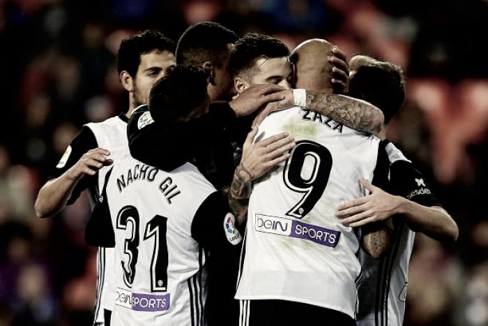 Valencia goleia e se classifica na Copa do Rei; Atlético e Sevilla também avançam