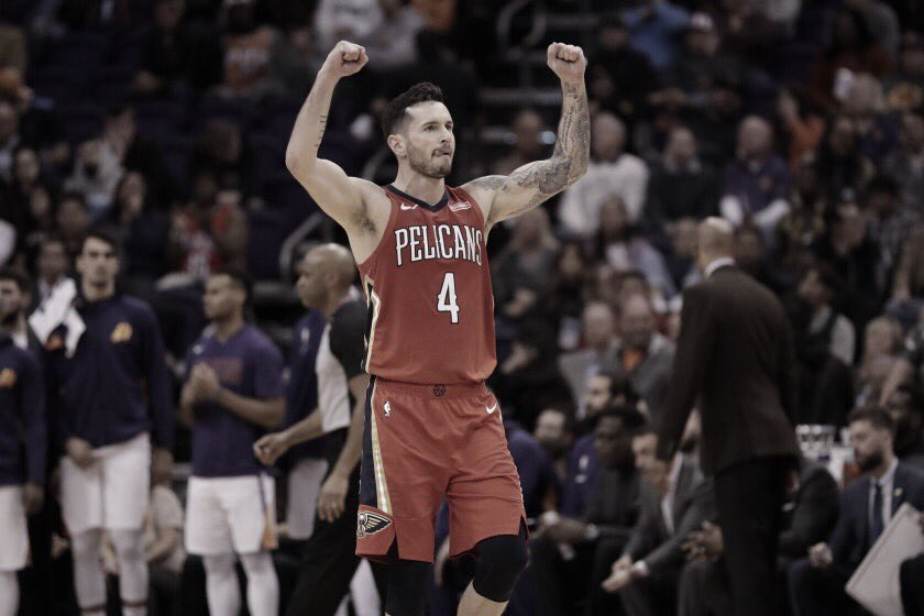 JJ Redick out two weeks