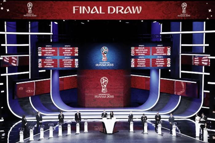 Com clássico ibérico e Brasil em chave razoável, grupos na Copa do Mundo são definidos