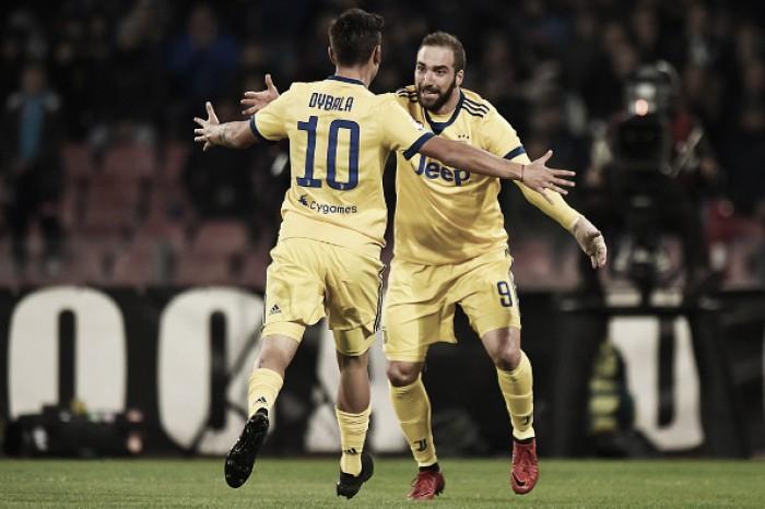 Higuaín decide, Juventus vence e tira longa invencibilidade do Napoli na Serie A