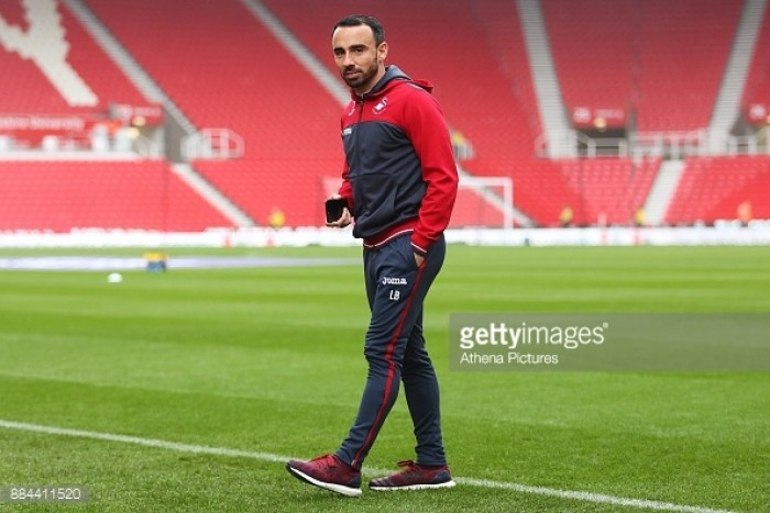 Swansea City caretaker manager Leon Britton rules himself out of permanent job
