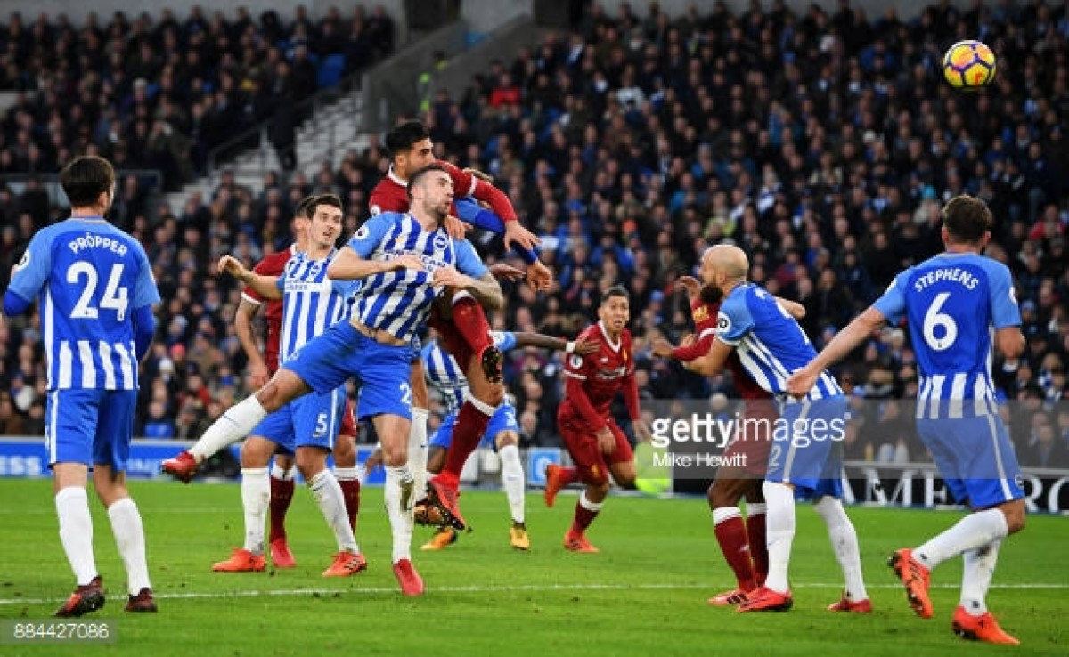 Liverpool vs Brighton & Hove Albion Preview: Reds require one point for top four against safe Albion